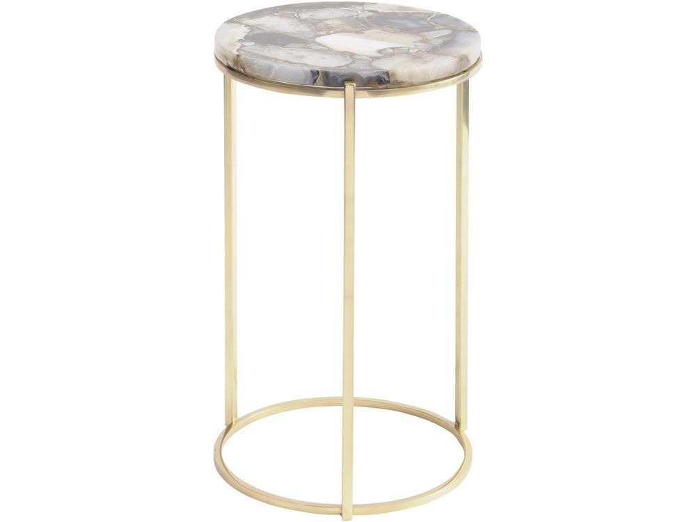 Best And Newest Mix Agate Metal Frame Console Tables For Mix Agate Metal Frame Console Table » Best Home Bedroom Blue Yellow (Image 8 of 25)