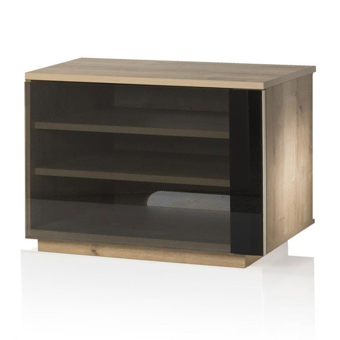 Best And Newest Oak Tv Cabinet With Doors Inside Uk Cf New Barcelona Oak Tv Cabinet With Glass Door (Image 6 of 25)