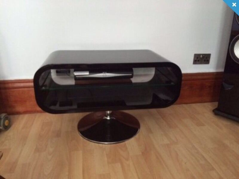 Best And Newest Opod Tv Stand Black For Techlink Opod High Gloss Black Tv Stand (Image 3 of 25)