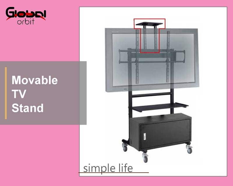 Best And Newest Stil Tv Stands Intended For Basit Stil Tv Montaj Braketi Için Iki Ekran,cep Çift Ekran Tv Standı (View 18 of 25)