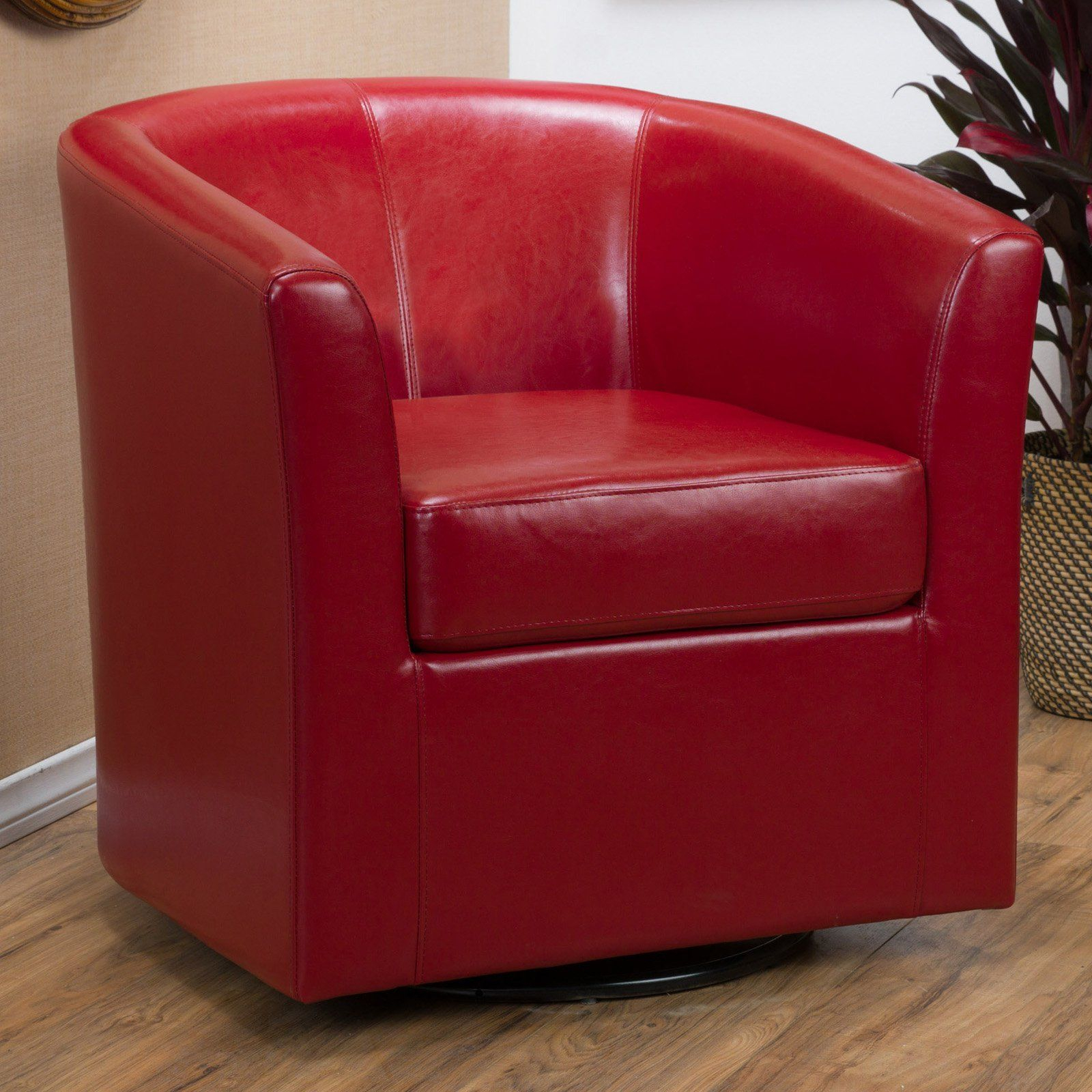Best Selling Home Swivel Barrel Chair | From Hayneedle | Living Pertaining To Twirl Swivel Accent Chairs (Image 4 of 25)