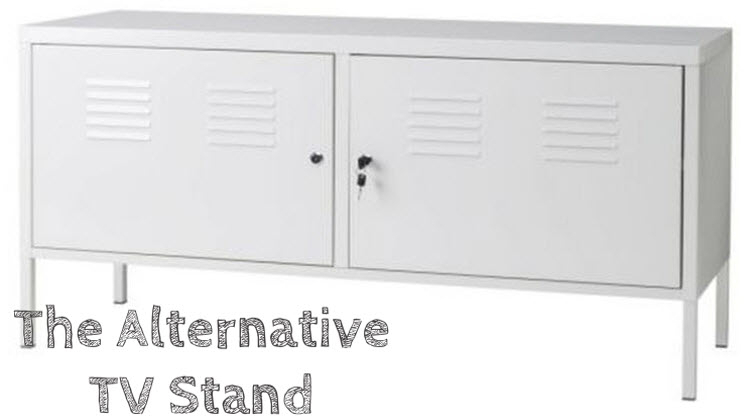 Best Uniquely Cool Tv Stand – Ikea White Metal Locker Tv Cabinet Throughout Current Rowan 45 Inch Tv Stands (Image 9 of 25)
