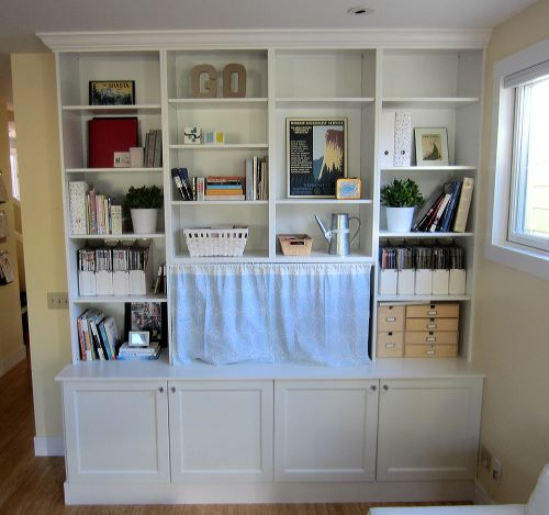 Besta Built In Family Room Bookshelf And Tv Unit – Ikea Hackers Intended For Well Known Ikea Built In Tv Cabinets (View 9 of 25)