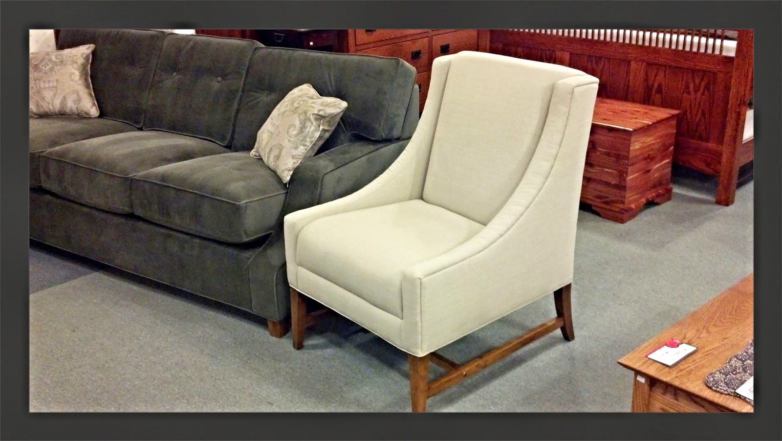 Binghamton Furniture: Parker Sofa & Ivy Chairnorwalk Furniture Inside Parker Sofa Chairs (Image 2 of 25)