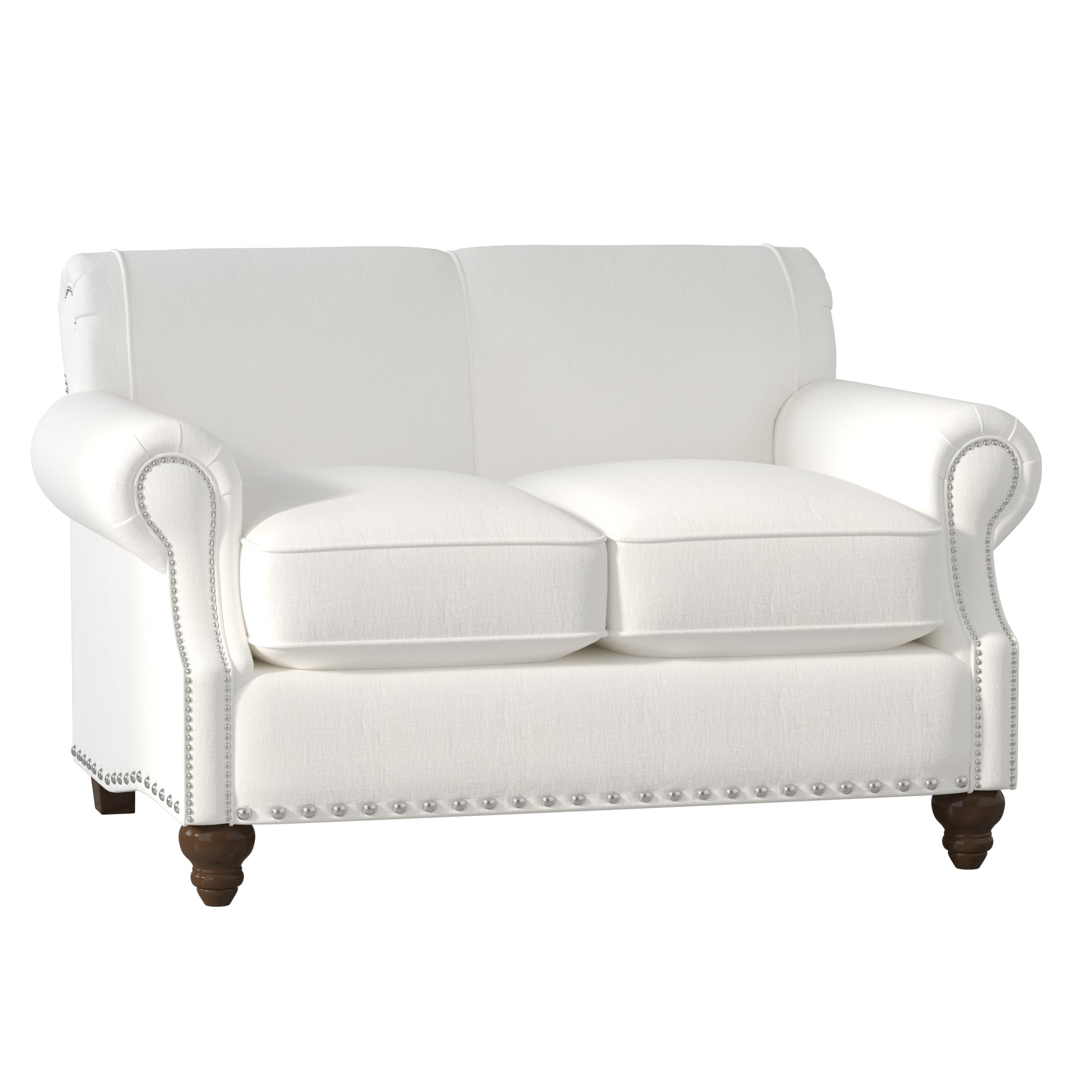 Birch Lane™ Heritage Landry Loveseat & Reviews | Birch Lane In Landry Sofa Chairs (Image 9 of 25)