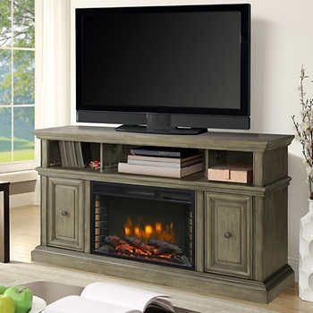 Bjs Electric Fireplace Tv Stand Attractive Lovely Tv With Regard To Inside Current Bjs Tv Stands (Image 5 of 25)