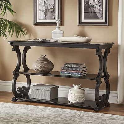 Black Console Tables You'll Love (Image 3 of 25)