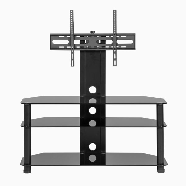 Black Glass Cantilever Tv Stand throughout Widely used Cheap Cantilever Tv Stands