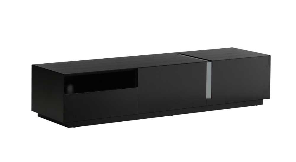 Black High Gloss Tv Standj&m Furniture (Image 5 of 25)