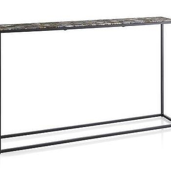 Black Metal Agate Console Table – Products, Bookmarks, Design Pertaining To Preferred Mix Agate Metal Frame Console Tables (Image 9 of 25)
