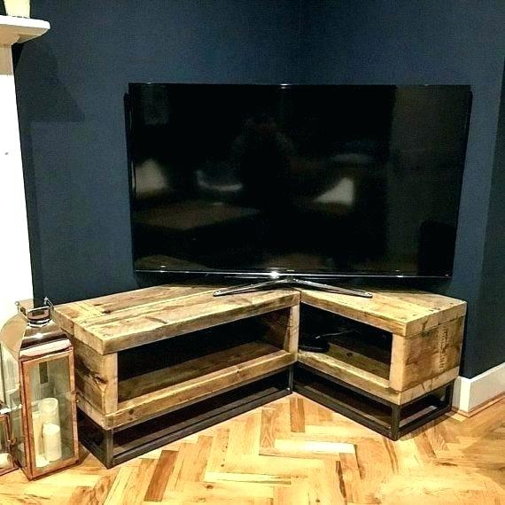 Black Tv Stand For 55 Inch Tv Cabinet Inch Corner Stand With Mount With Regard To Latest 55 Inch Corner Tv Stands (Image 5 of 25)