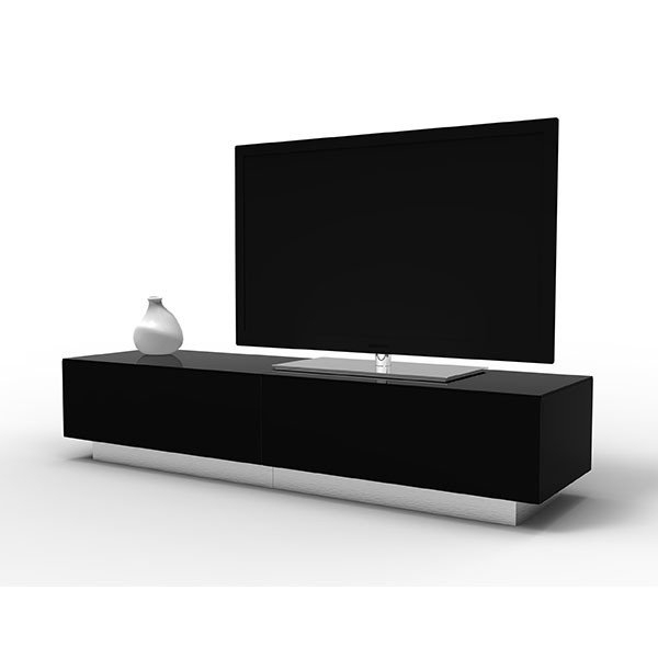 Black Tv Stands Uk – Tv Cabinets And Furniture Within Well Liked Black Gloss Tv Stands (View 8 of 25)