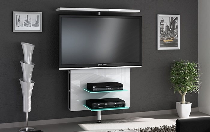 Black Tv Units (Image 3 of 25)