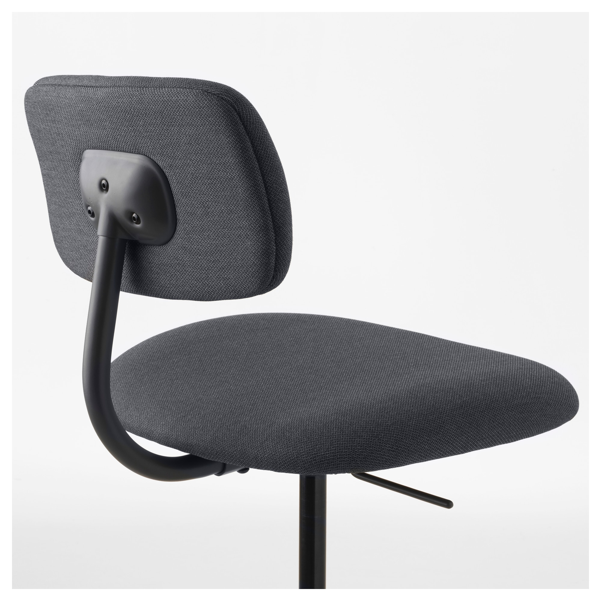 Bleckberget Swivel Chair Idekulla Dark Grey – Ikea With Grey Swivel Chairs (View 22 of 25)