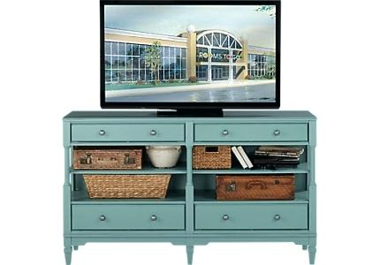 Blue Tv Console – Lowgrav Regarding Best And Newest Annabelle Black 70 Inch Tv Stands (View 18 of 25)