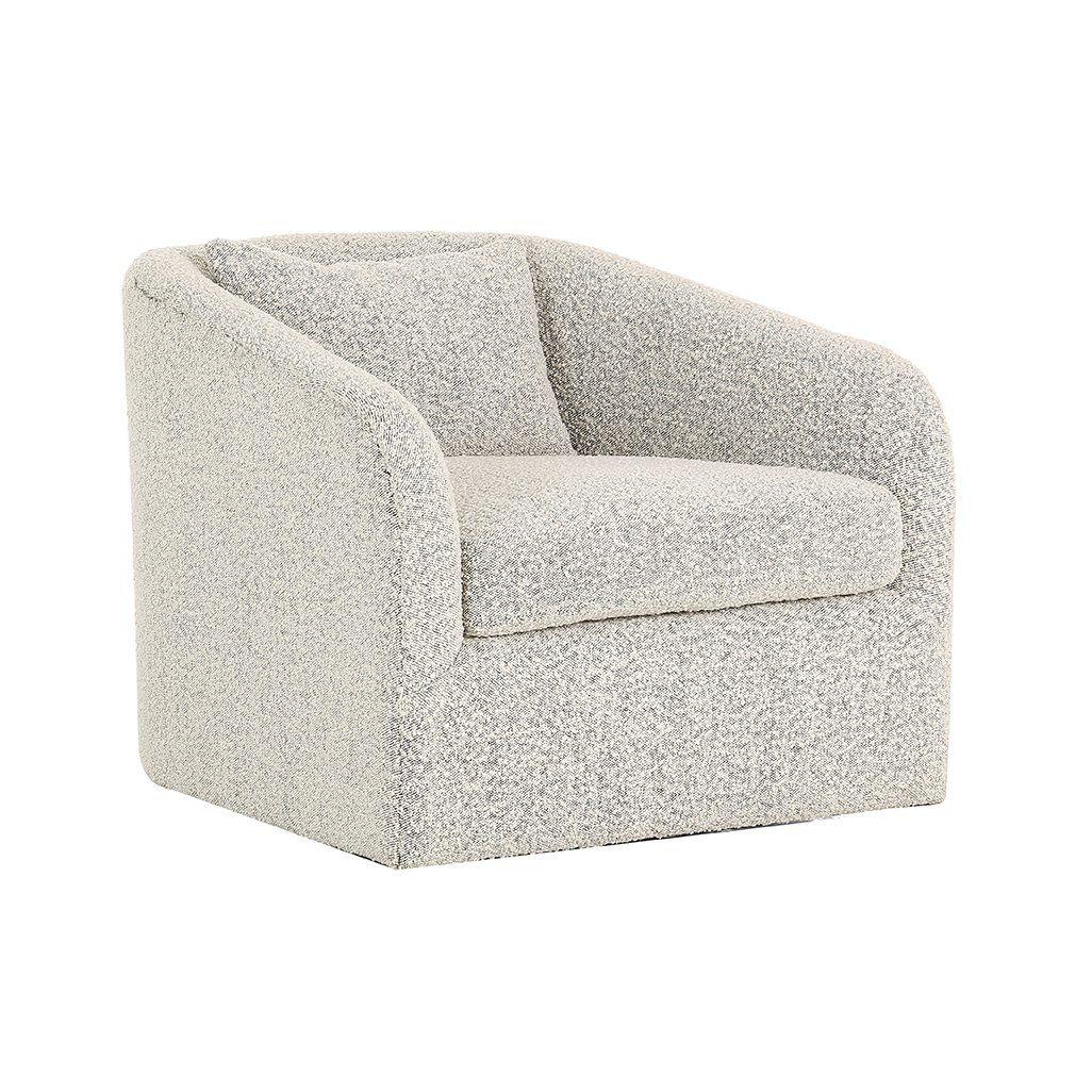 Boucle Aspen Swivel Chair In 2018 | Chairs | Pinterest | Chair With Regard To Aspen Swivel Chairs (View 2 of 25)