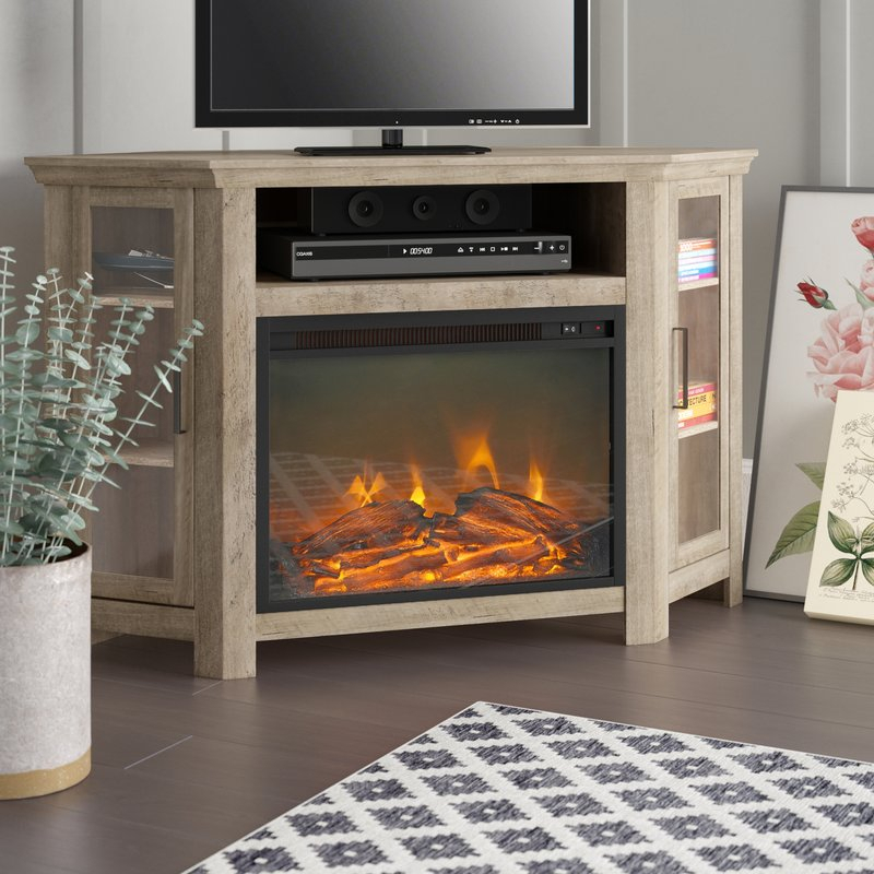 "Brambly Cottage Andreas Tv Stand For Tvs Up To 48"" & Reviews Within Most Recent Preston 66 Inch Tv Stands (Image 9 of 25)"