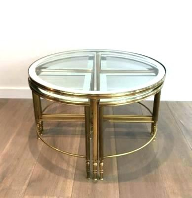 Brass Base Glass Top Coffee Table S Slab Marble Bras – Trains Railways Pertaining To Most Current Elke Marble Console Tables With Brass Base (Image 7 of 25)