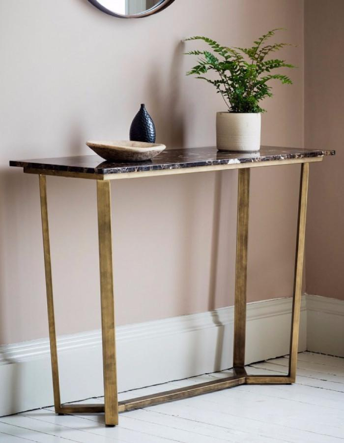 Brass Console Table Cool Phillip Reviews Crate And Barrel Decorating With Regard To Well Known Phillip Brass Console Tables (Image 5 of 25)