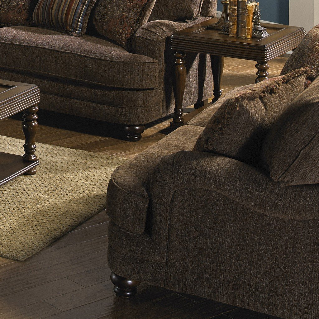 Brennan Living Room Set (Auburn) Jackson Furniture | Furniture Cart For Brennan Sofa Chairs (Image 5 of 25)