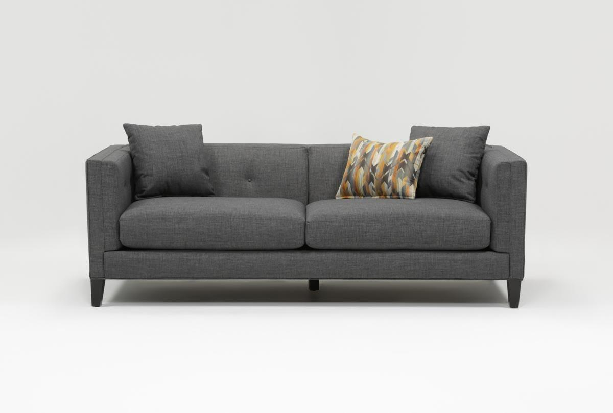 Brennan Sofa | Living Spaces Throughout Alder Grande Ii Sofa Chairs (View 6 of 25)