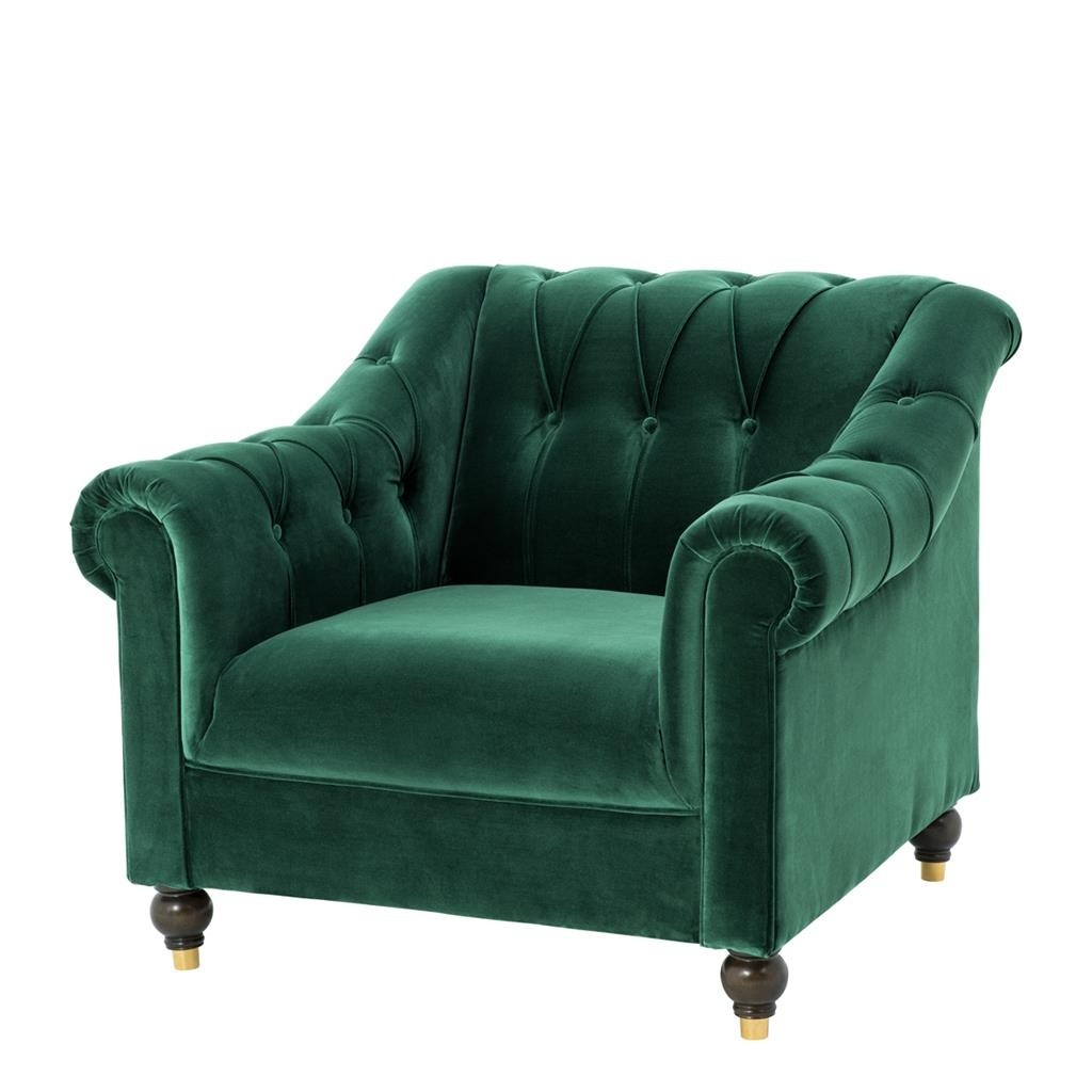 Brian Cameron Green Chair | Shop Now Regarding Cameron Sofa Chairs (Image 4 of 25)