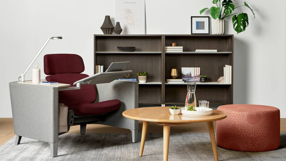 Brody Worklounge Modular Workstations – Steelcase With Regard To Popular Chari Media Center Tables (Image 3 of 25)