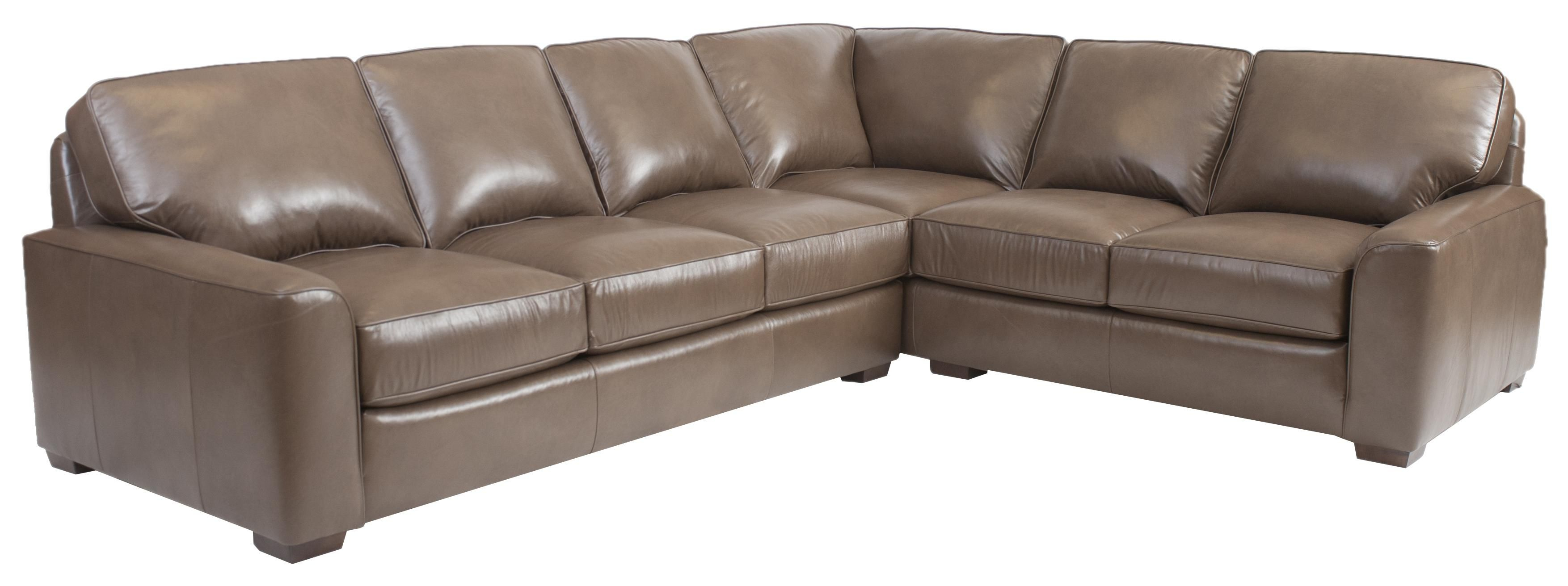 Build Your Own (8000 Series) Large Corner Sectional Sofasmith Within Amala White Leather Reclining Swivel Chairs (View 25 of 25)