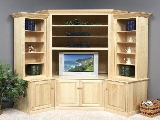 Built In Corner Tv Cabinet Corner Cabinet Stand Hutch Small Corner throughout Well known Corner Tv Cabinet With Hutch