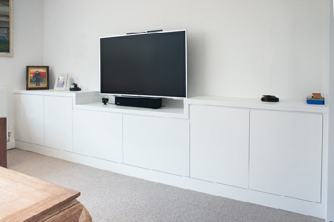 Built In Tv Media Units With Regard To Most Popular Bespoke Tv Cabinet (Image 7 of 25)