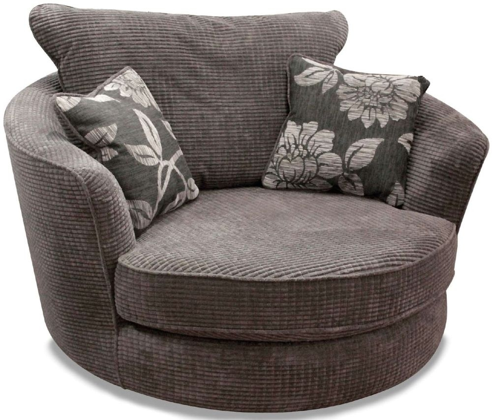 Featured Photo of Charcoal Swivel Chairs