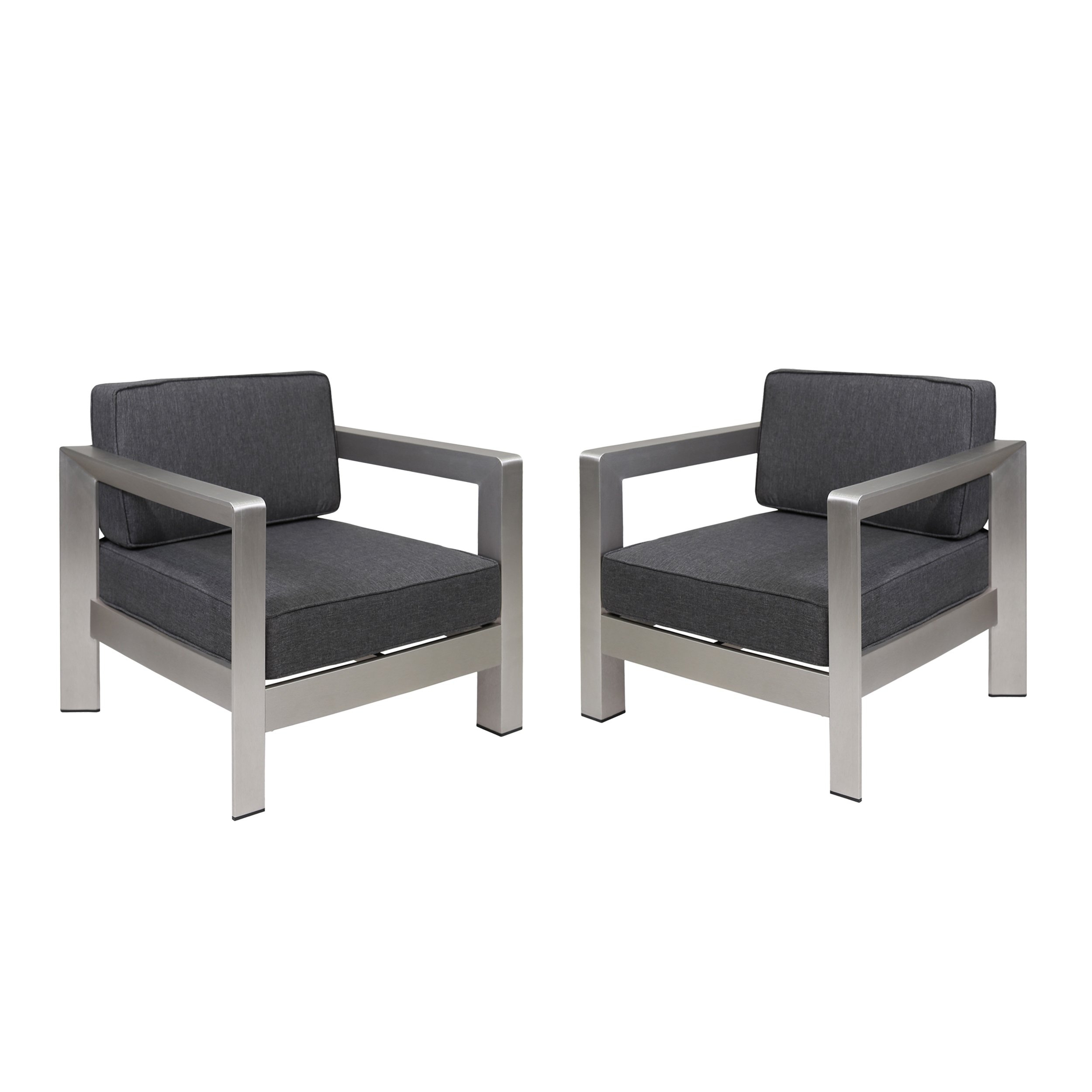 Buy Grey, 2 Outdoor Sofas, Chairs & Sectionals Online At Overstock Within Alder Grande Ii Swivel Chairs (View 24 of 25)