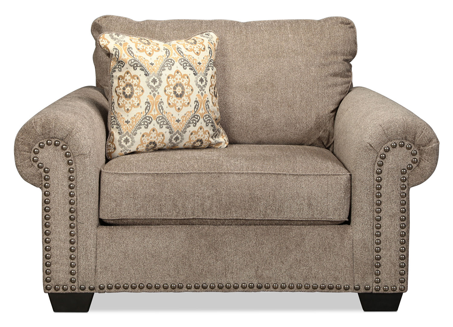 Callie Chair – Grey | With Callie Sofa Chairs (Image 4 of 25)