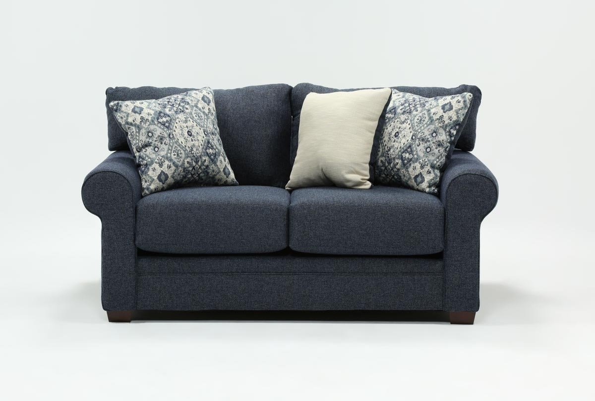 Cameron Loveseat | Living Spaces Throughout Cameron Sofa Chairs (Image 8 of 25)