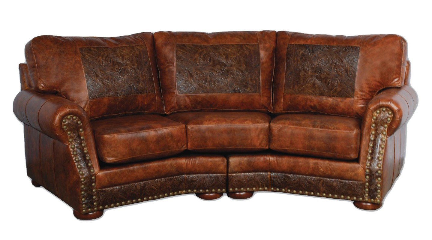 Cameron Ranch Conversation Sofa – Antiquity Ember & Cosmopolitian Intended For Cameron Sofa Chairs (Image 9 of 25)