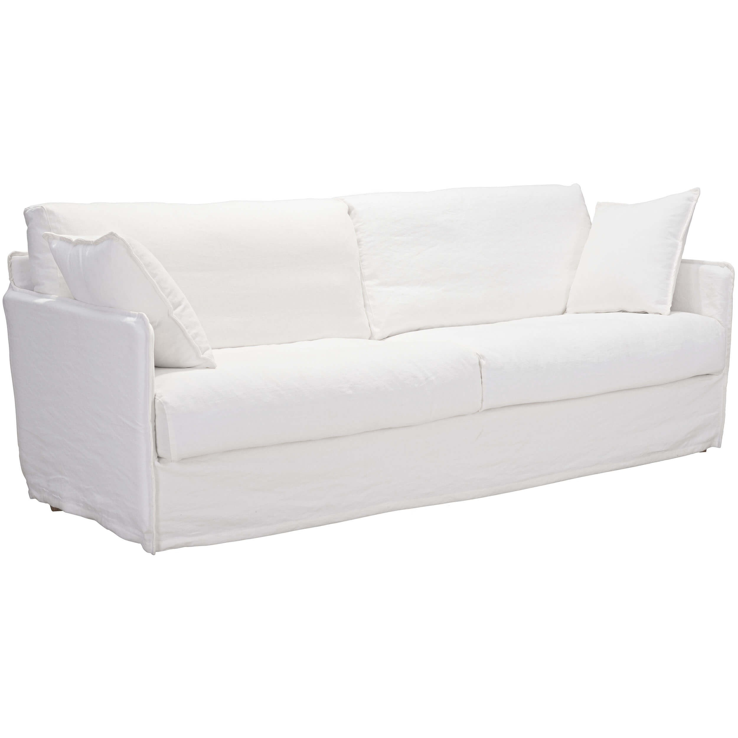 Cameron Sofa, Ivory – Zuo Modern – Furniture Pertaining To Cameron Sofa Chairs (Image 16 of 25)