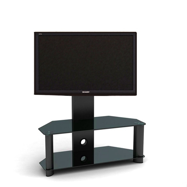 Featured Photo of Cantilever Glass Tv Stand