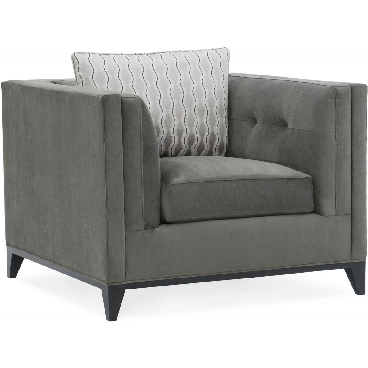 Caracole Modern Grace Chair With Grace Sofa Chairs (Image 1 of 25)