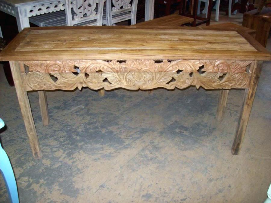Carved Console Table Carved Console Table Hand Carved Wood Console Within Well Liked Balboa Carved Console Tables (Image 5 of 25)