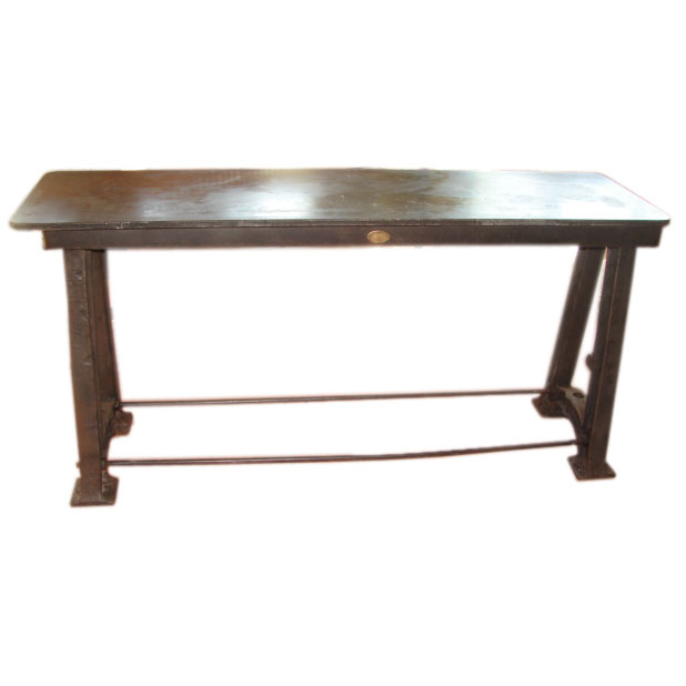 Cast Iron And Bluestone Console Table At 1Stdibs Used Console Table Inside Well Known Bluestone Console Tables (Image 7 of 25)