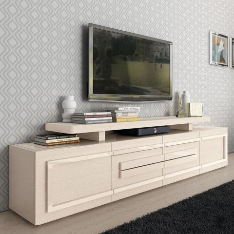 Century High Gloss Or Wood Veneer Lower Tv Unit : F D Interiors Ltd Within 2018 Cream High Gloss Tv Cabinet (Photo 8 of 25)