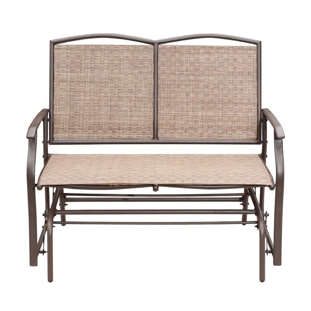 Chair: Cozy Patio Chair Design With Outdoor Loveseat Glider With Grandin Leather Sofa Chairs (Image 8 of 25)