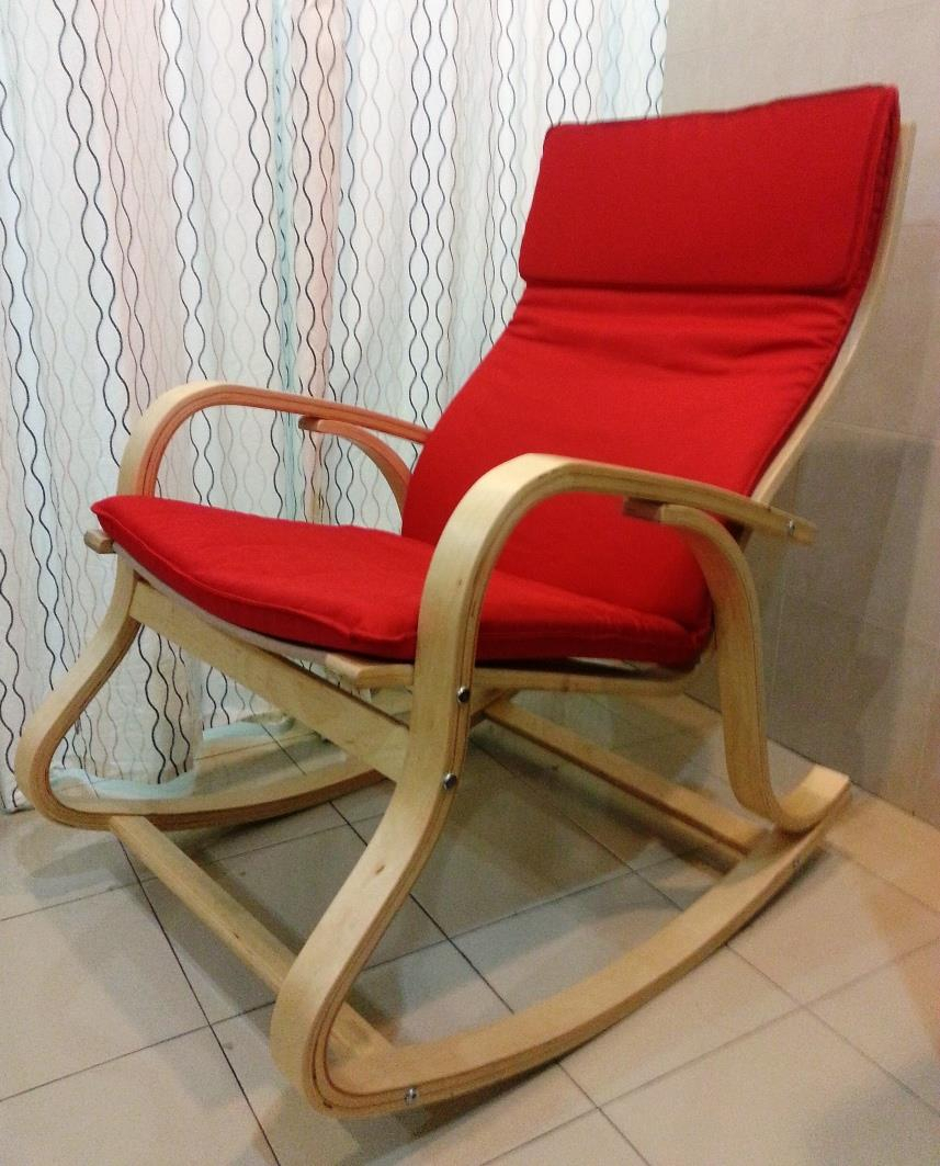 Chair Table Furniture Wood Cushion So (End 8/8/2019 3:04 Pm) Regarding Ikea Sofa Chairs (Image 3 of 25)