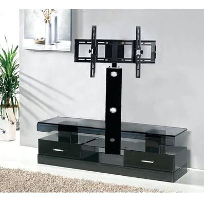Cheap Black Tv Stands Stand For Most Flat Panel S Up To Black Corner In Fashionable Black Corner Tv Stands For Tvs Up To  (Image 5 of 25)