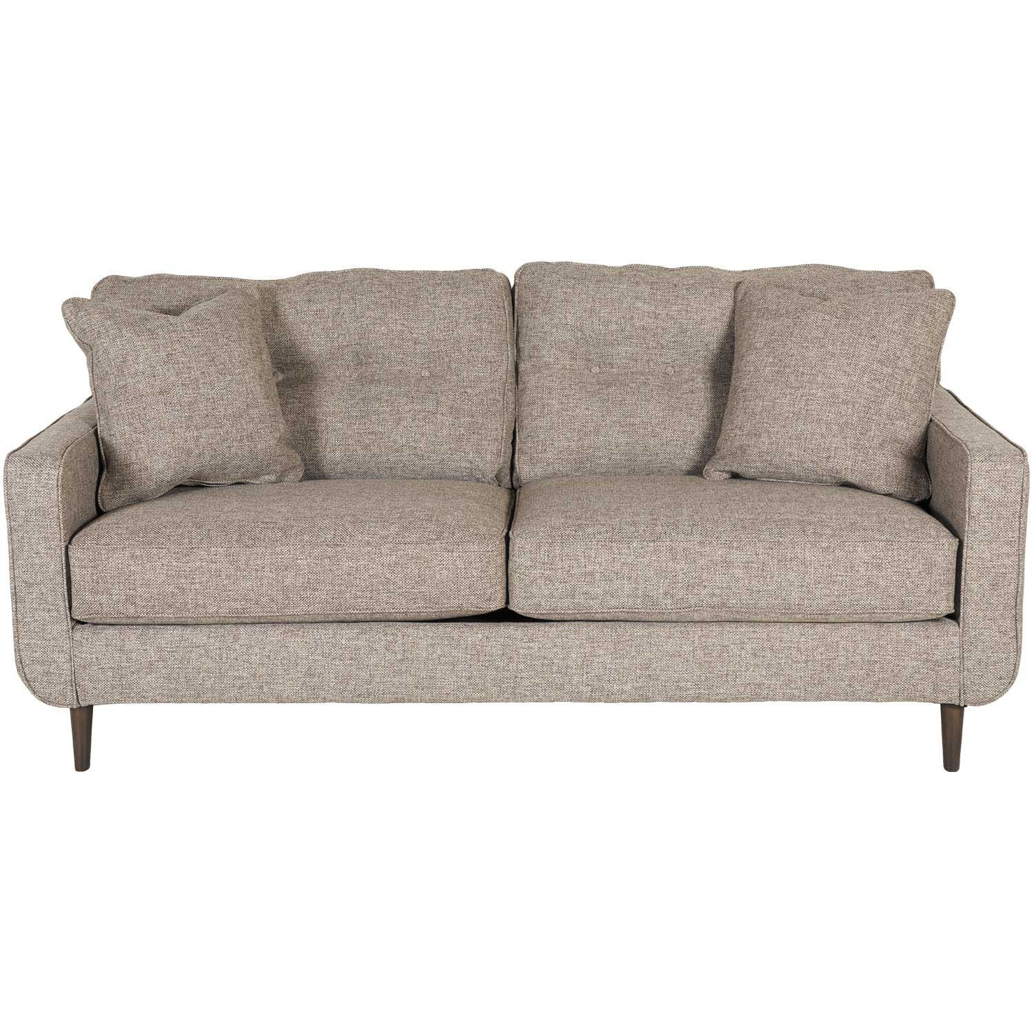 Chento Jute Sofa M 628S | Ashley Furniture | Afw Inside Abigail Ii Sofa Chairs (View 8 of 25)