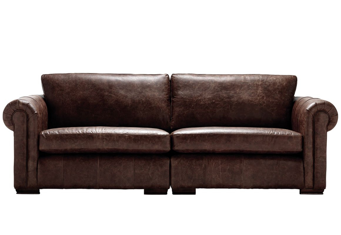 Chesterfield Sofa Sale, Leather Sofa Sale – Up To 30% Off | Thomas Lloyd Pertaining To Andrew Leather Sofa Chairs (Image 16 of 25)
