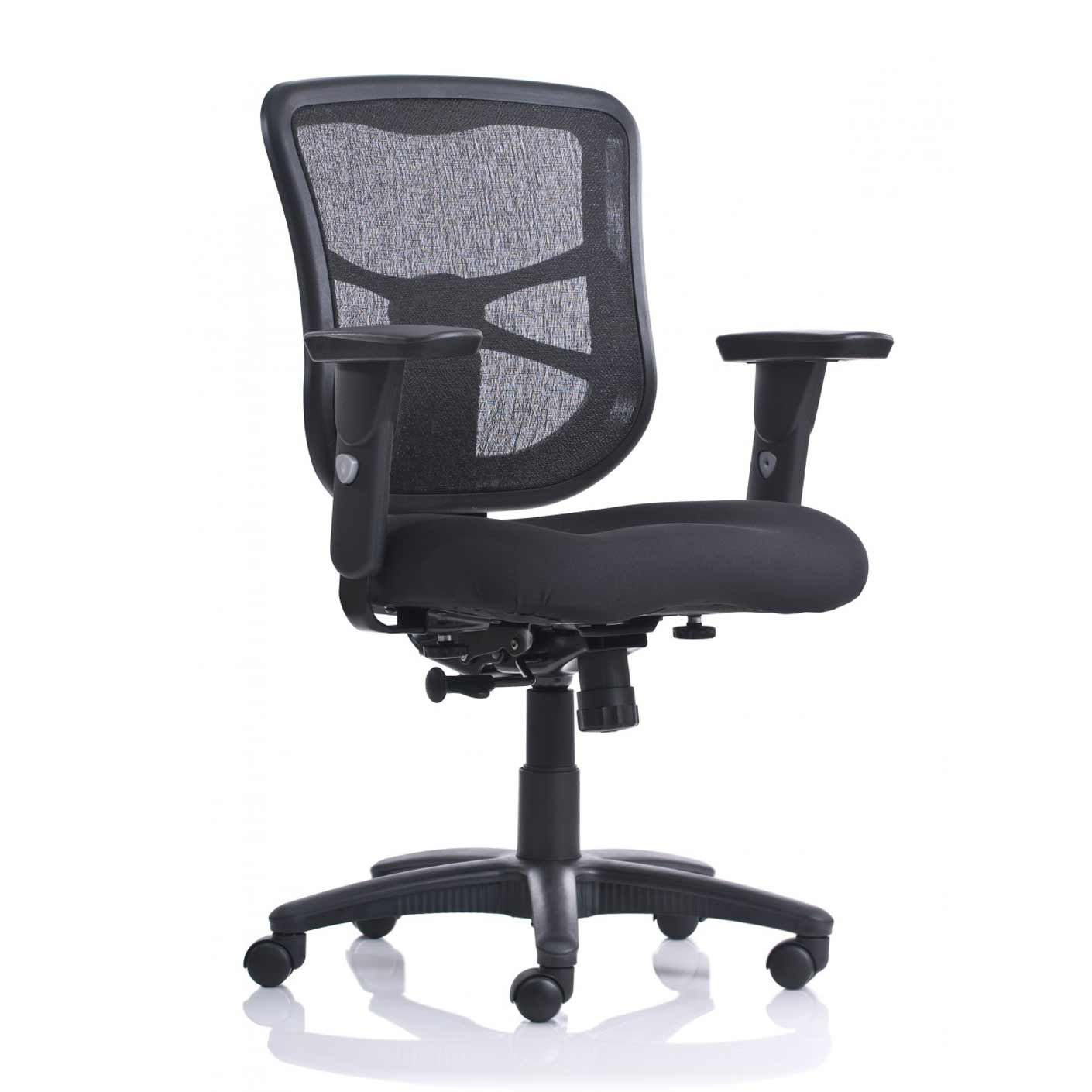 Chicago Black Mesh Home Office Chairs | Office Chair | Pinterest With Chadwick Gunmetal Swivel Chairs (View 19 of 25)