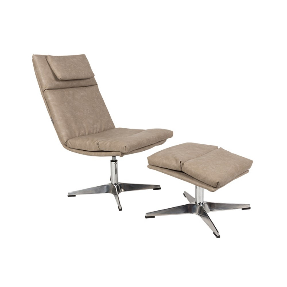 Chill Set Vintage Lounge Chair – Modern Furniture Store In Dublin In Chill Swivel Chairs With Metal Base (Image 8 of 25)