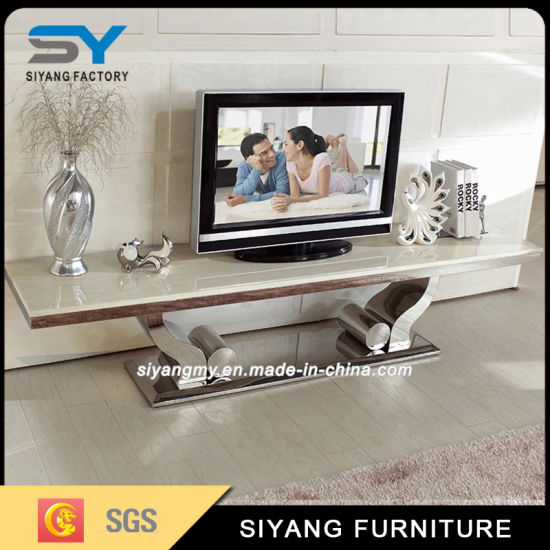 China Home Furniture Dining Sets Marble Tv Cabinet - China Cabinet inside Most Recently Released Tv Cabinets and Coffee Table Sets