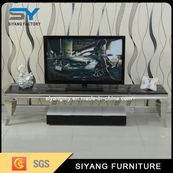 China Tv Furniture Tv Cabinet Mirror Glass Tv Stand Tv Unit – China Within Recent Mirrored Furniture Tv Unit (Image 7 of 25)